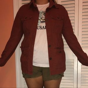RUST FALL JACKET